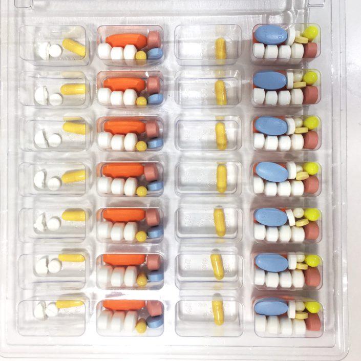 Blister pastillero de SPD, servicio personalizado de dosificacion